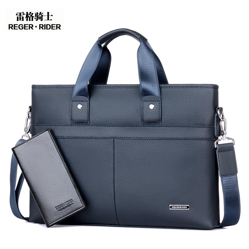 男包商務包斜挎包手提包橫款單肩包男商務公文包男士包包
