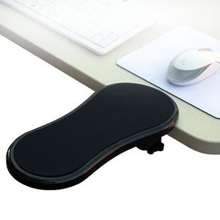 电脑手托架桌用鼠标垫护腕托手腕垫子可旋转手臂支架电脑桌手托板键盘手托鼠标手托架舒适臂托台式机桌子延长