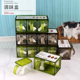 调料盒套装厨房用品用具调味盒调料罐佐料盒盐罐多格抽屉式家用