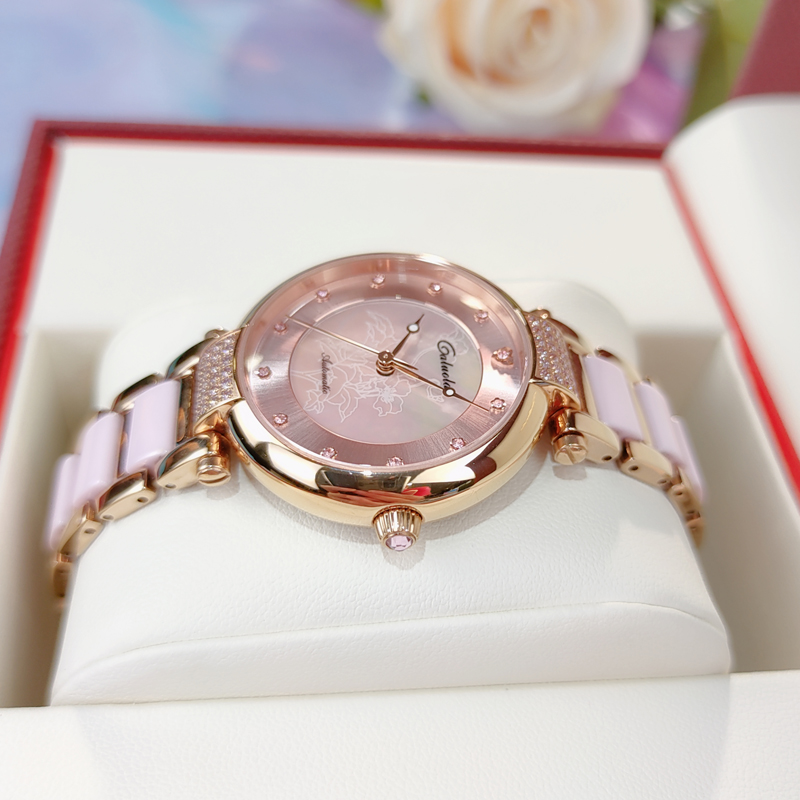 Corolla brand watch women mechanical watch temperament brand name brand automatic waterproof Ceramic fashion authentic women's watch trend