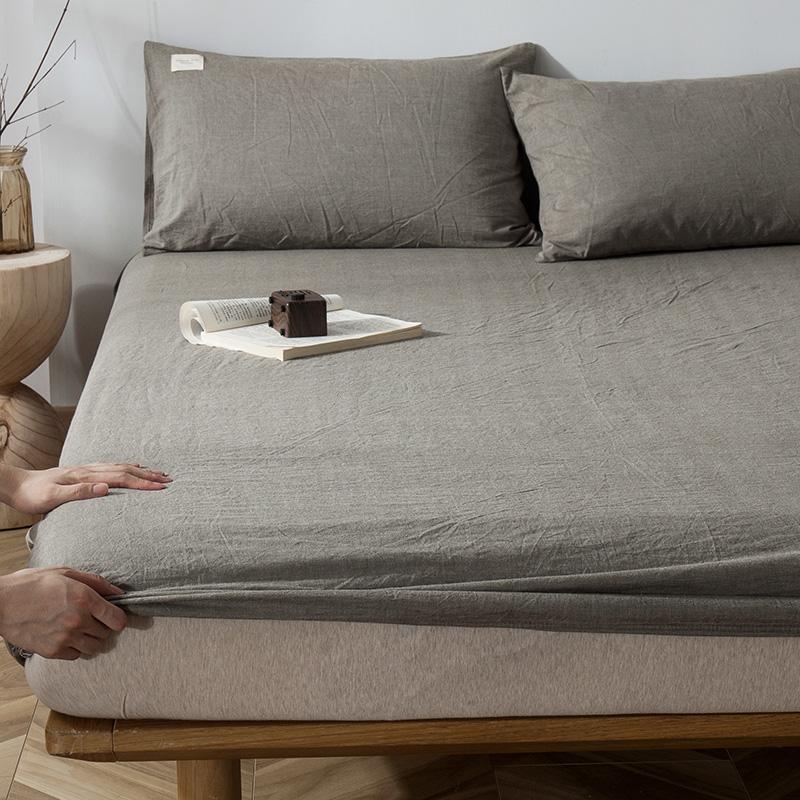床笠纯棉良品水洗定制儿童保护床垫限时2件3折
