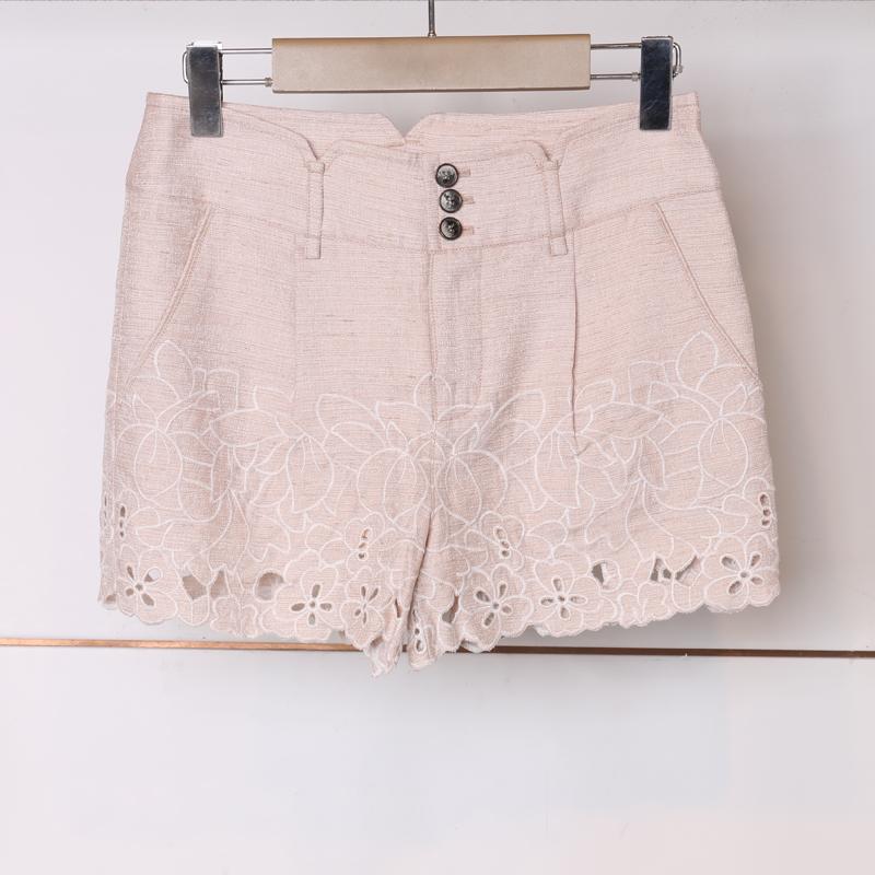 专柜正品印花时尚春夏款13WX201周末短裤1880元