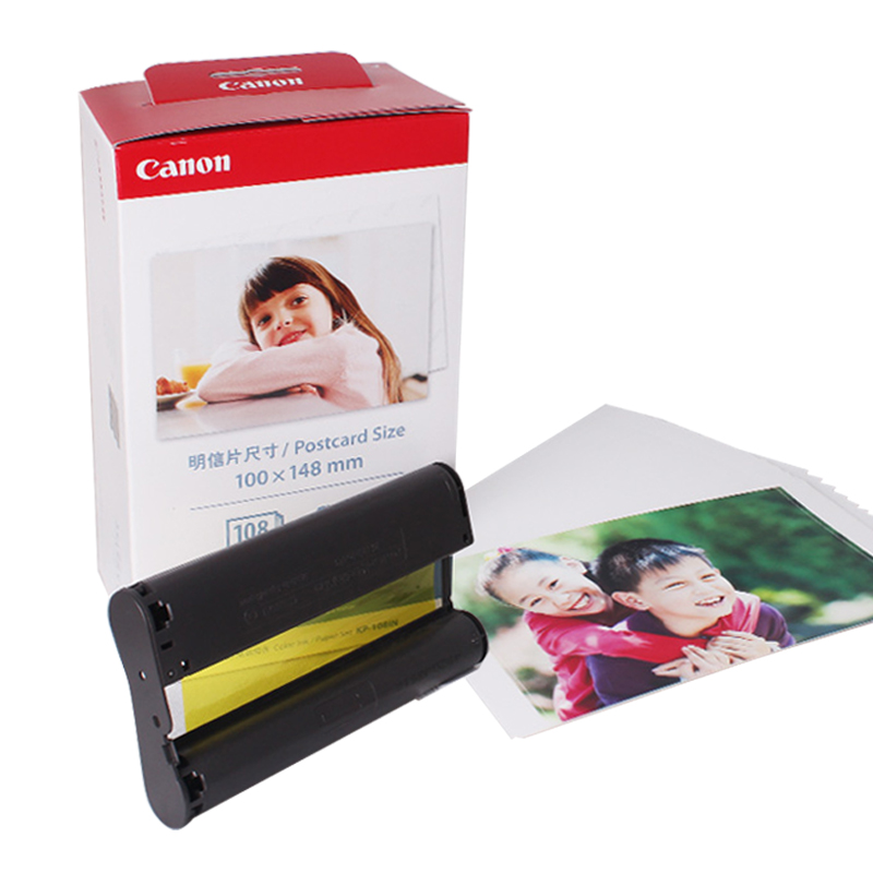 佳能KP~108照片紙6寸CP900 CP910 CP1200相紙 A6熱升華相紙RP10