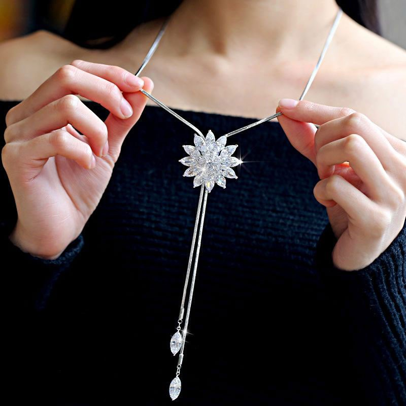Clothing accessories pendant pendant clothing accessories decorative chain atmosphere sweater chain leisure spring hanging chest chain