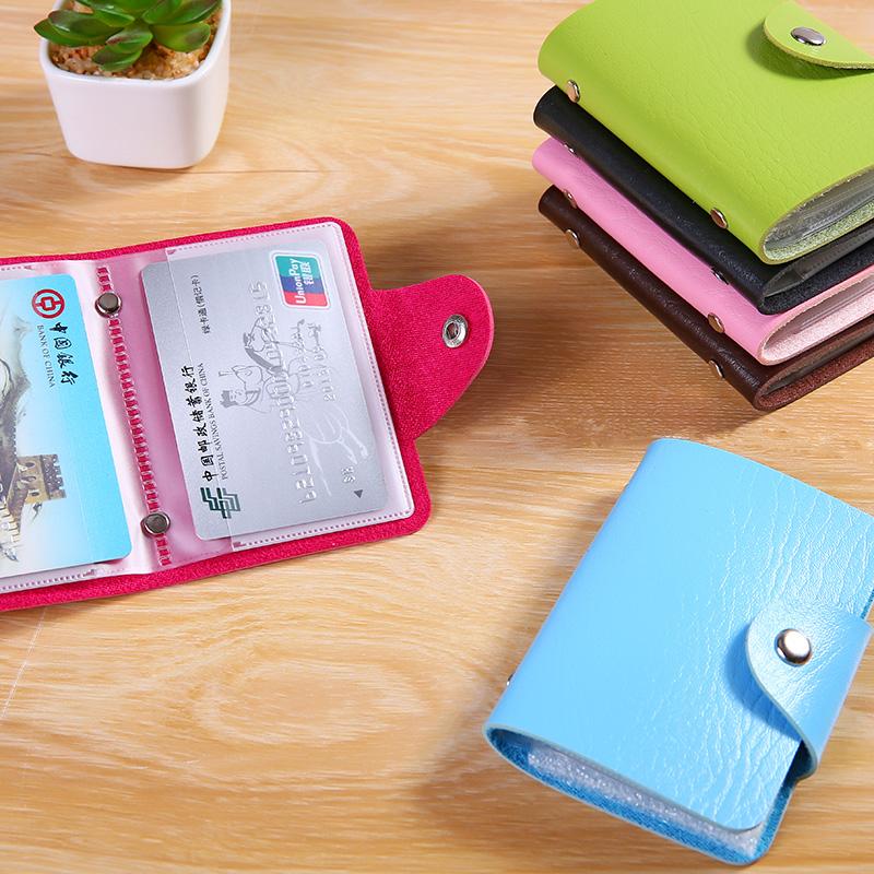 可爱女式多卡位卡包防消磁银行卡套信用卡包 学生卡片包