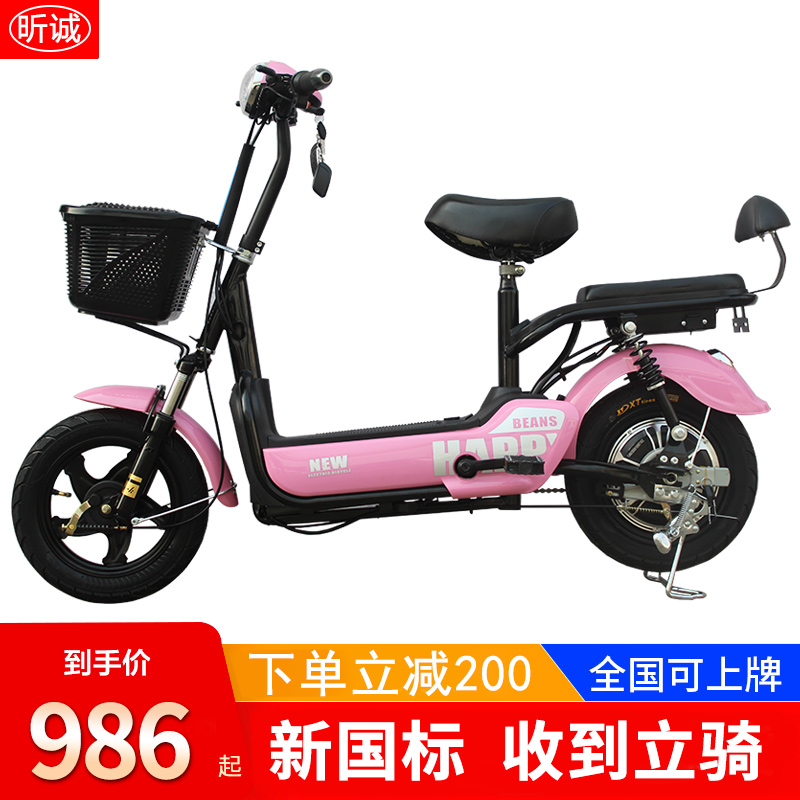 New national standard electric vehicle adult electric bicycle electric bicycle for men and women