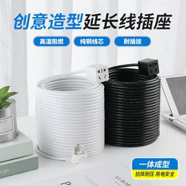 家用电源延长线电动车充电插座插排接线板插线板风扇连接线排插图片