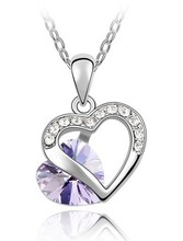 Small jewelry wholesale new necklace crystal necklace - the most popular in 2012-035