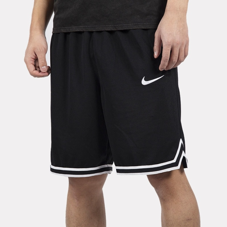 American basketball training shorts five-point pants over the knee autumn and summer men's sports loose ball pants breathable big pants