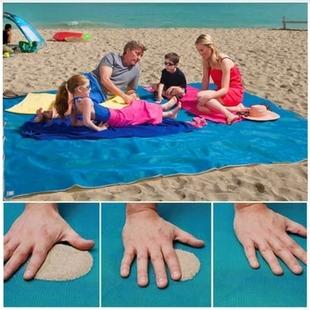沙滩垫席便携折叠超轻户外海边超大加大海边海滩垫子户外便携价格