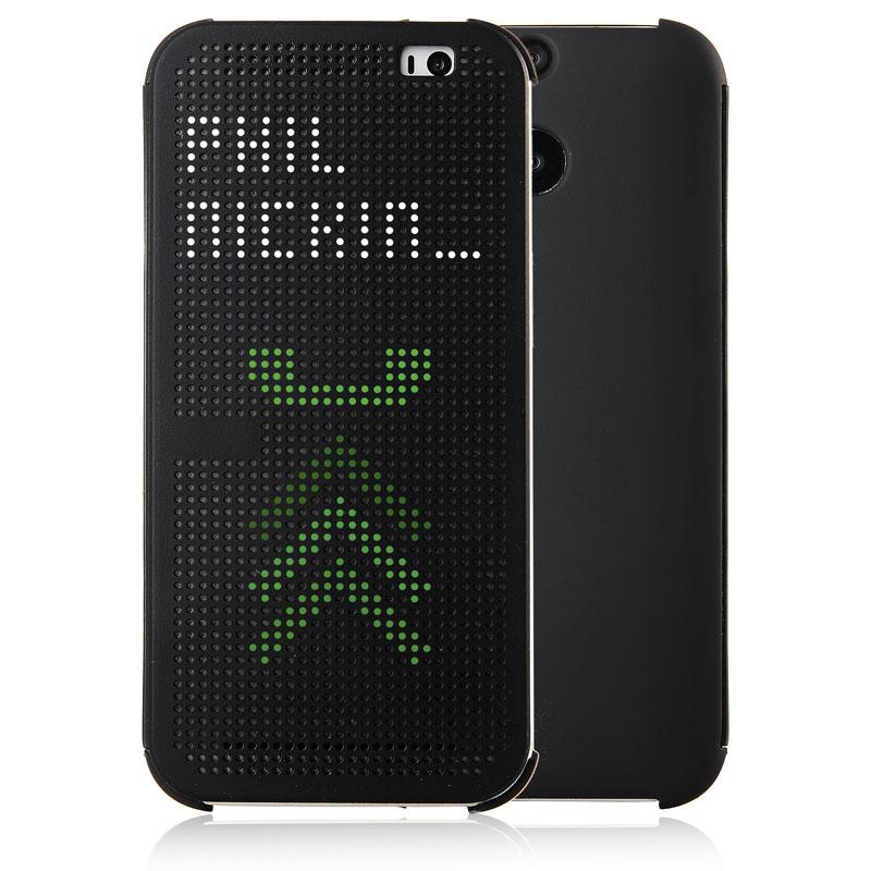 伯朗 htc m8手機套one m8手機殼m8智能立顯保護套m8t手機殼m8w套