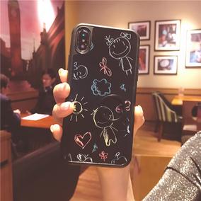 可爱简笔画iphonexs max苹果手机壳