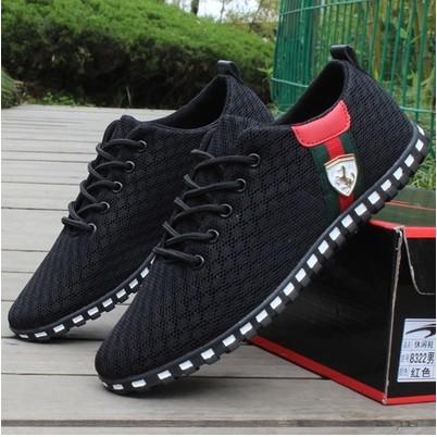 Внешняя торговля взрыв моделей стандартный мужская обувь лето обувь воздухопроницаемый мужчина обувь casual корейский меш старый пекин