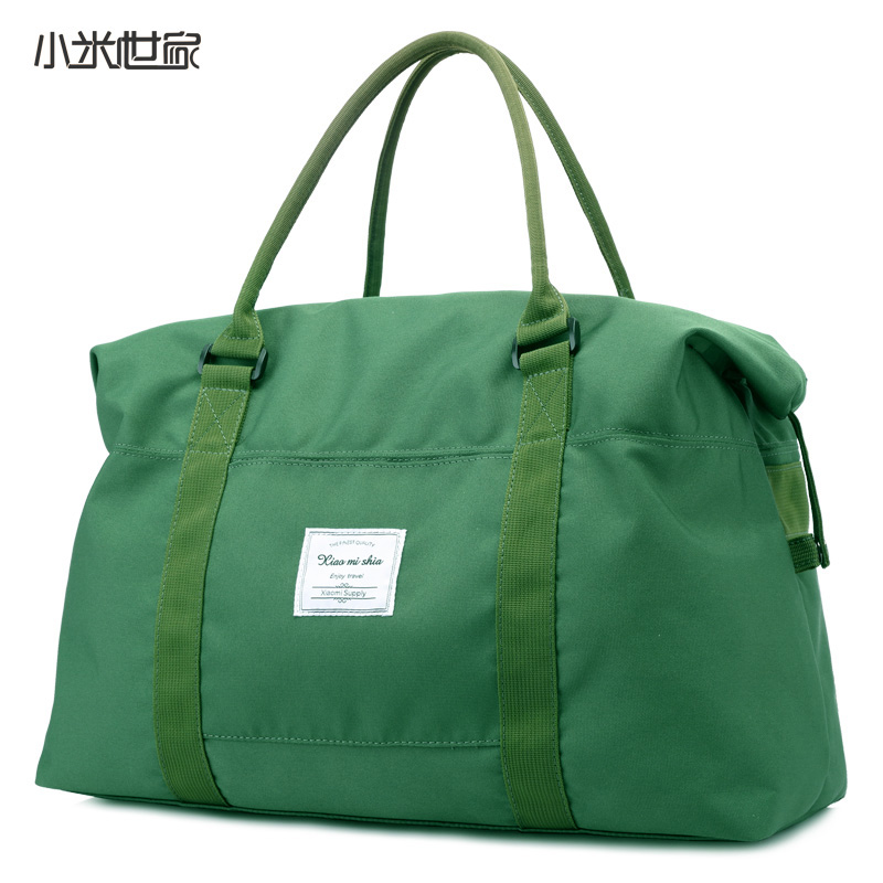 Millet family large capacity handbag for women on business baggage single shoulder bag for men short-distance nylon canvas bag