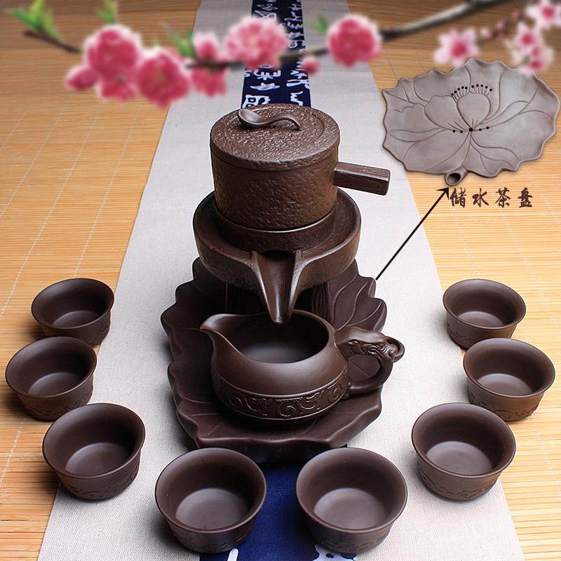 Пышный держать чайный сервиз керамика бездельник каменные мельницы все полуавтоматический фиолетовый чайник установите усилие творческий пузырь чай устройство домой