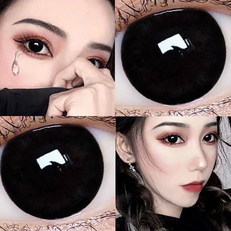 Tina Meitong: female size and diameter net red model genuine big brand mixed blood half year throw season contact lens TN