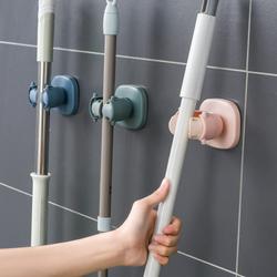 免打孔拖把挂钩壁挂式卫生间卡扣浴室置物架拖把架子扫把挂架神器