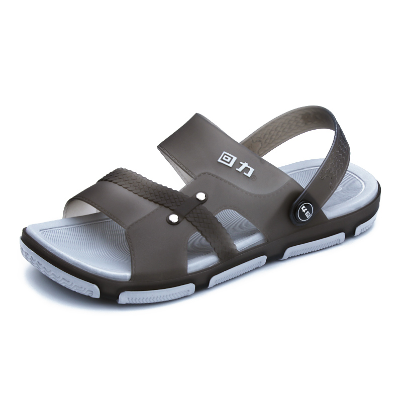 Return Sandals Men's Fashion Korean Edition Fashion Outdoor 2009 New Summer Slip-proof and Wear-resistant Sandal Slippers