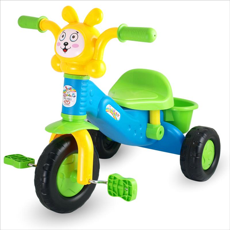 兒童卡通三輪車 手推腳踏車 小孩自行車玩具 幼兒推車童車1~3歲
