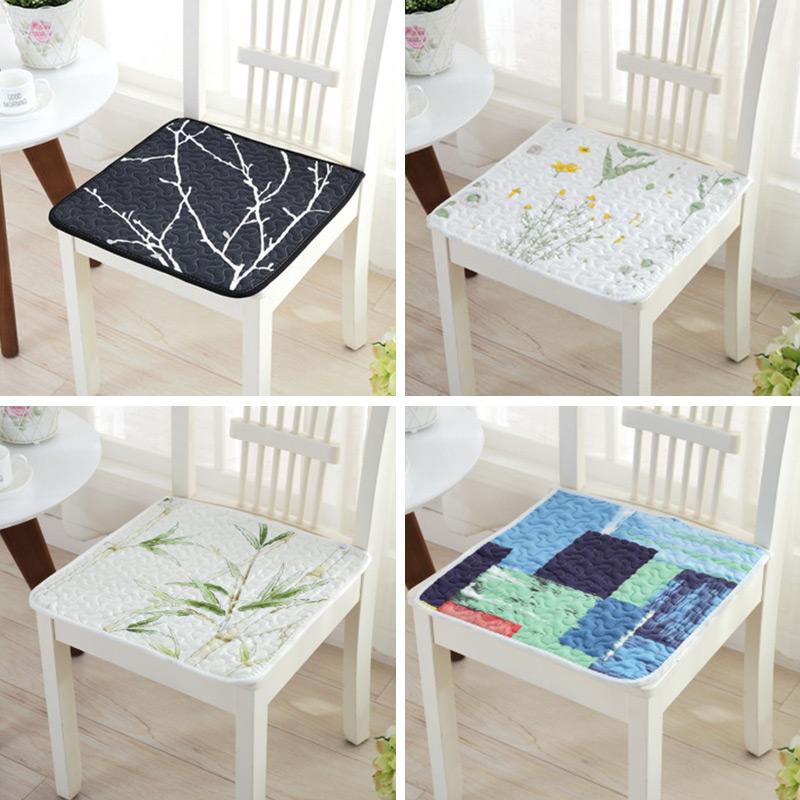 四季通用纯棉毛绒防滑办公学生教室坐垫电脑椅垫冬季餐椅垫包邮