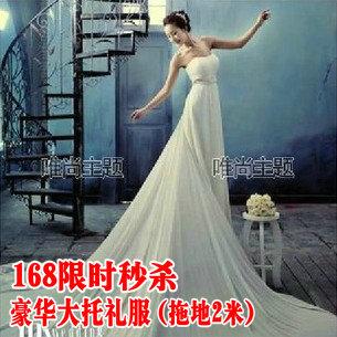 к 2015 году новых шифон труба верхняя одежда Свадебная фотография студии темы долгосрочной поддержки платье Корейский пару фото 15