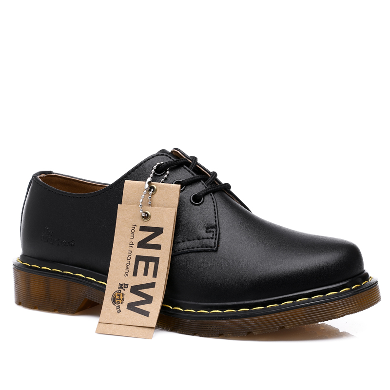 Spring and autumn mens Martin shoes leather Oxford bottom casual shoes mens shoes fashion lace round head versatile tooling shoes fashion