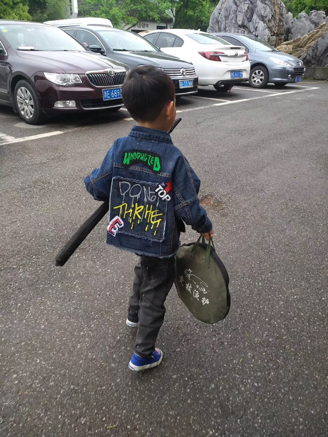 Zhuangzi childrens wear options Live Room options message number order