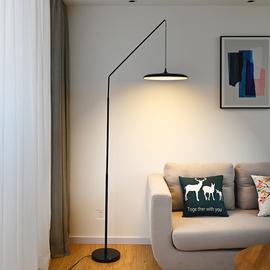个性创意简约北欧立式茶几托盘落地灯客厅卧室书房样板房钓鱼灯图片