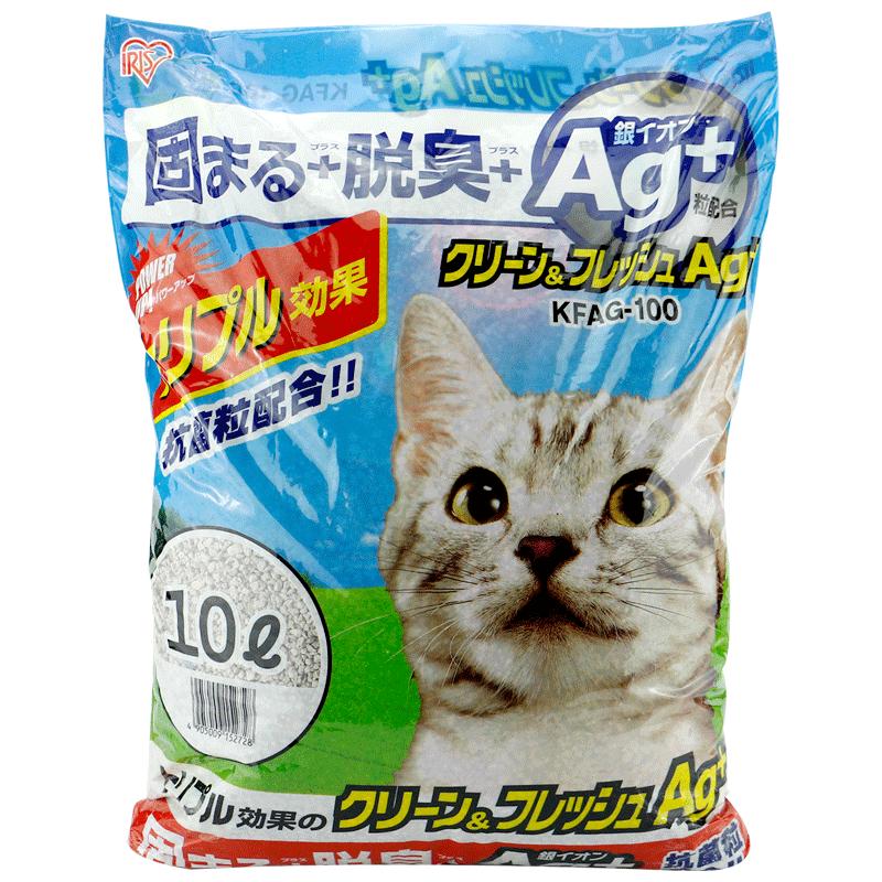 愛麗絲 愛麗思貓砂 膨潤土 銀離子結團貓砂10L 低粉塵除臭土貓砂