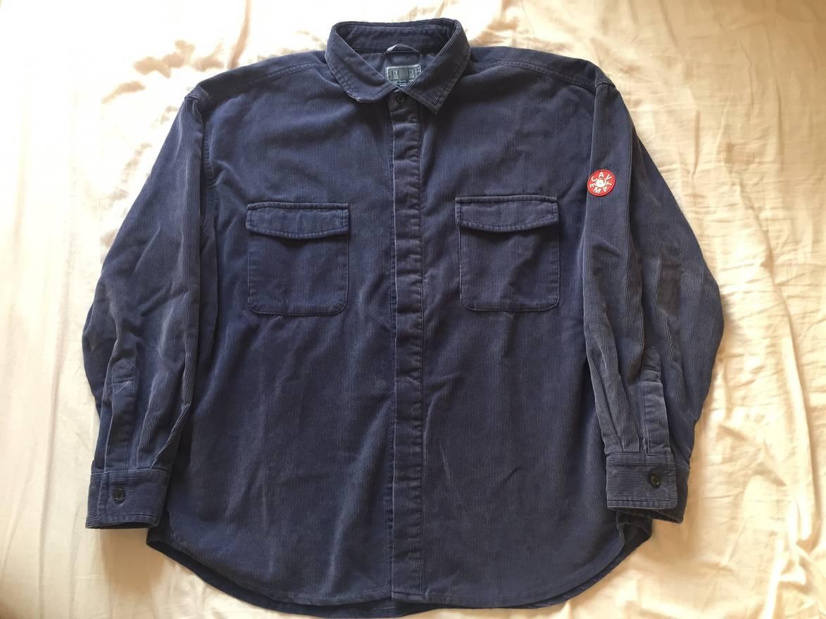 自主自产 X 17SS Cavempt C.E BIG CORD/TWILL SHIRT灯芯绒衬衫夹