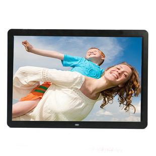 新款超薄窄边15寸高清数码相框/电子相册/支持高清1080P电影播放
