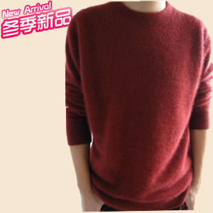2012 Hitz round neck cashmere sweaters mink sweater Korean men s sweater men s sweater
