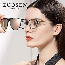 墨镜夹片男女偏光太阳镜近视夹片式潮大框时尚驾驶镜片可上翻2180图片