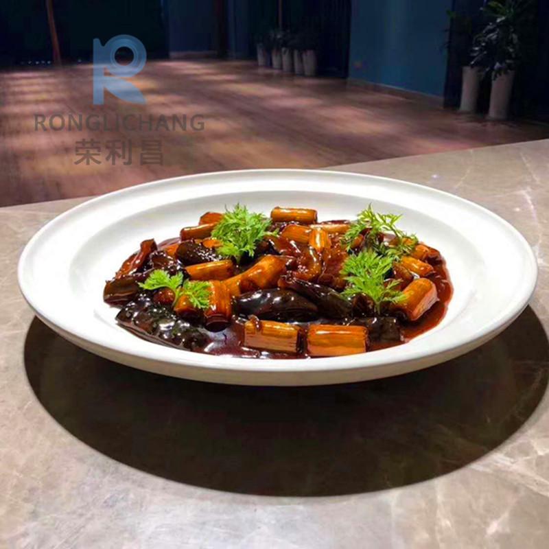 酒店餐厅会所大董意境菜创意餐具融合菜特色私房菜个性家用陶瓷盘