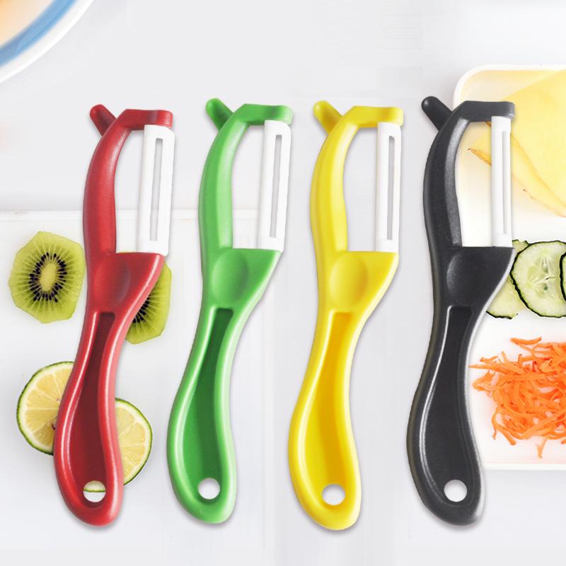 Xiangzhijun ceramic planer peeler peeler German kitchen utensils vegetable, fruit and melon shredder net red fruit knife