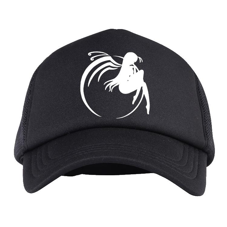 加速世界帽子 黑雪姬周边鸭舌帽 动漫男女棒球帽 二次元太阳帽