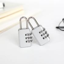 拉杆箱旅行箱机械密码锁锌合金密码挂锁学生寝室储物柜小锁头