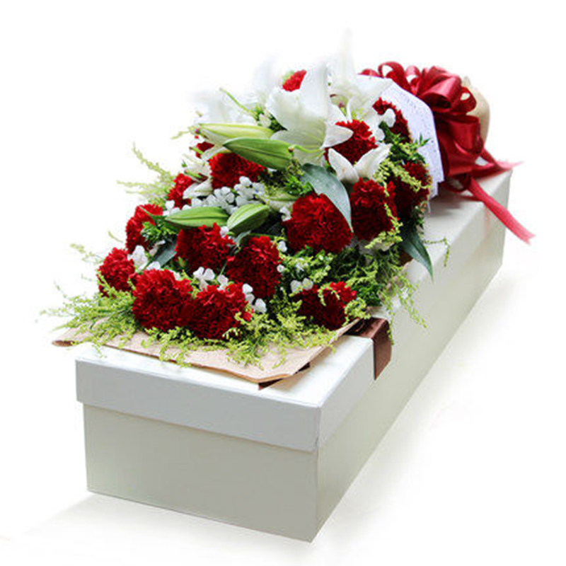 全国送花兰州鲜花速递同城康乃馨礼盒西宁银川乌鲁木齐生日送长辈