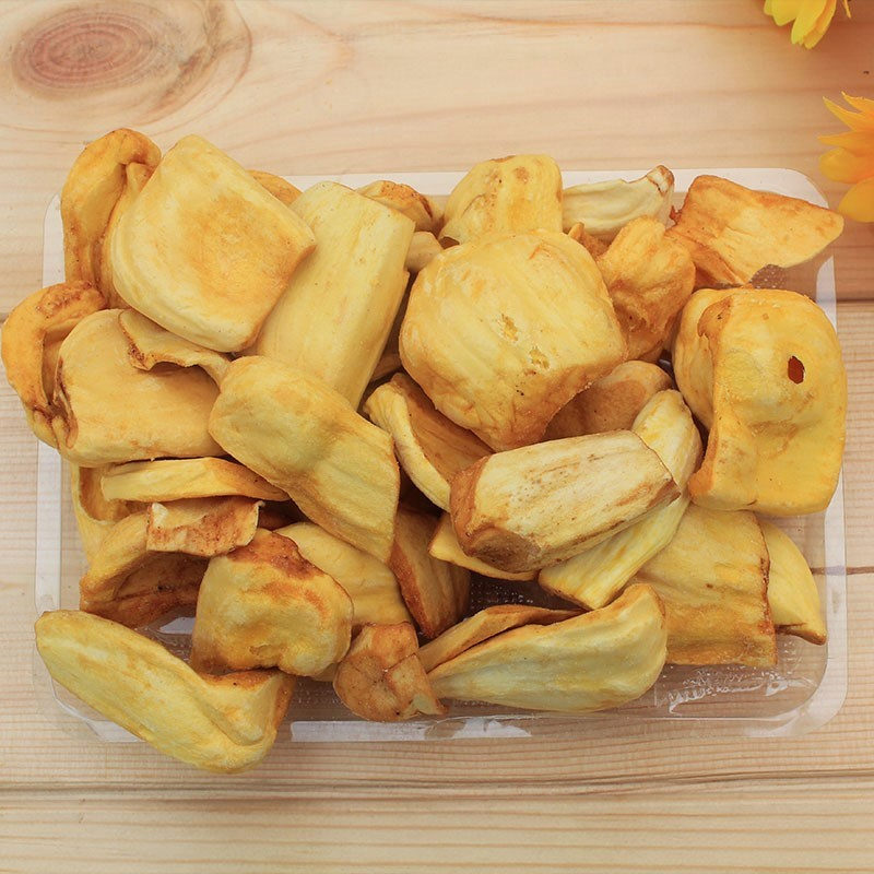 限9000张券泰国进口菠萝蜜干150g*2包特产果干冻干菠萝蜜脆片水果干包邮干果