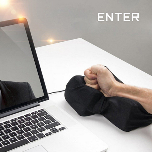 Big Enter Anti Stress Relief Button USB Nap Pillow Ebay Hot
