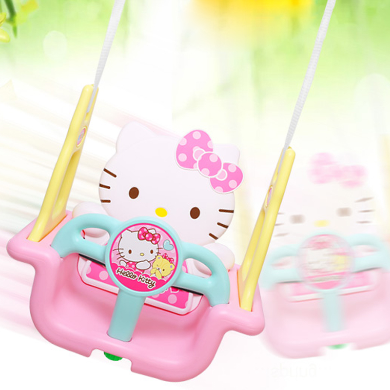Childrens indoor and outdoor Swing Baby garden family garden baby hanging chair rocking chair plastic thickened toys