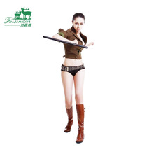 Fassen deer hard pc material T stick t turn t stick T type Martial arts turn butyl crutches