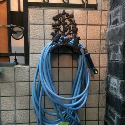 特价经典欧式复古铸铁铁艺小鸟花园水管架园艺架类庭院家居壁饰