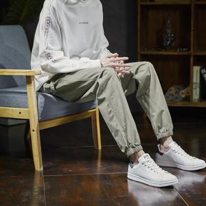 唐狮2019春季新品男夏宽松休闲裤