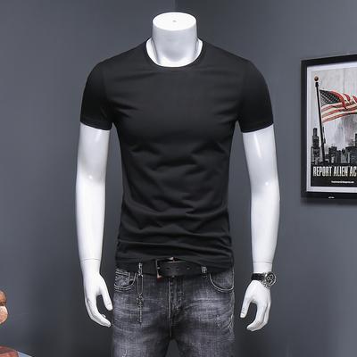 2018 纯色圆领短袖 T恤 半袖丝光棉打底衫 JPD307 D501P45