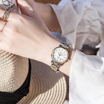 正品ins风手表女学生韩版简约气质小众品牌时尚防水日历女士手表
