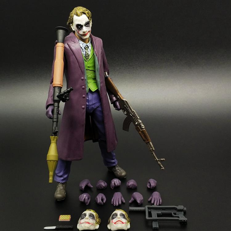 Batman vs. Superman, dark knight, justice alliance, movable doll model toys, hand-made clown ornaments