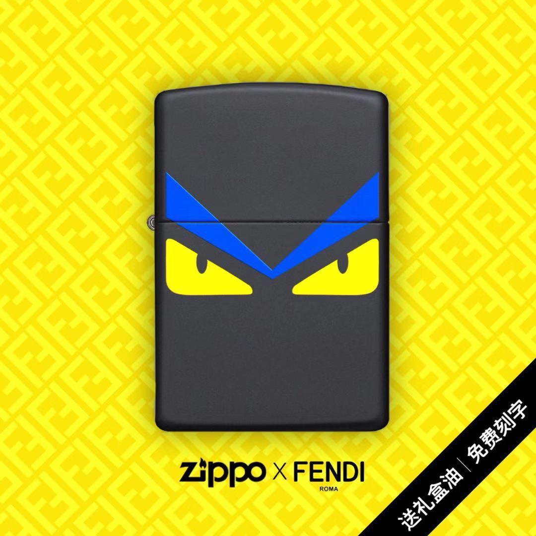 打火机zippo正版小怪兽正版限量版刻字萌系恶魔防风礼物礼盒zppo