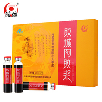 Shandong Gum City Gum Pulp gum oral liquid tonic Donga genuine adhesive pulp 20ml*12 box