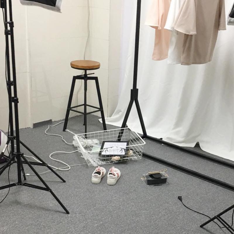 灰色地毯淘宝拍照摄影布衣服鞋直播间满铺办公客厅地垫耐磨不掉毛